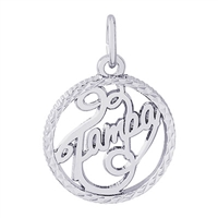Rembrandt Tampa Charm, Sterling Silver