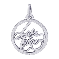Rembrandt Lake Tahoe Charm, Sterling Silver