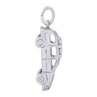 Rembrandt Mini Van Charm, Sterling Silver