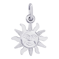Rembrandt St Thomas Sun Small Charm, Sterling Silver