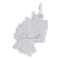 Rembrandt Germany Charm, 14K White Gold