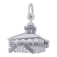 Rembrandt Bocagrand Florida Lighthouse Charm, Sterling Silver