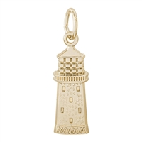 Rembrandt Gibbs Bermuda Lighthouse Charm, Gold Plated Silver