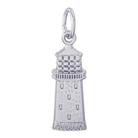 Rembrandt Gibbs Bermuda Lighthouse Charm, Sterling Silver
