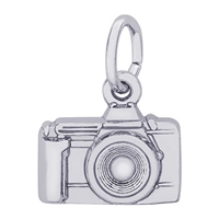 Rembrandt Camera Charm, Sterling Silver