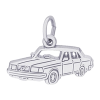 Rembrandt Car Charm, Sterling Silver