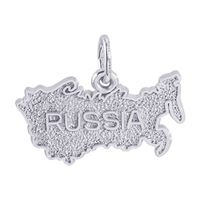 Rembrandt Russia Charm, Sterling Silver