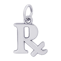 Rembrandt Pharmacy Charm, Sterling Silver