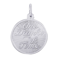 Rembrandt One Day At A Time Charm, Sterling Silver