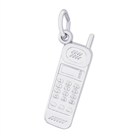 Rembrandt Cell Phone Charm, Sterling Silver