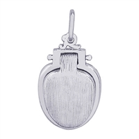 Rembrandt Toilet Seat Charm, Sterling Silver