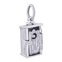 Rembrandt Outhouse Charm, Sterling Silver
