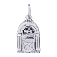 Rembrandt Juke Box Charm, Sterling Silver