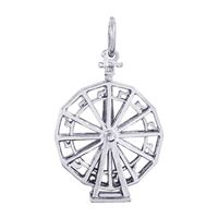 Rembrandt Ferris Wheel Charm, Sterling Silver