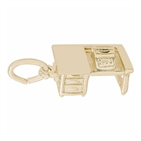 Rembrandt Desk Charm, Gold Plated Silver