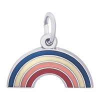 Rembrandt Rainbow Charm, Sterling Silver