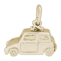 Rembrandt Classic British Car Charm, Gold Plated Silver