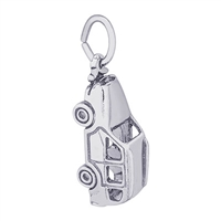 Rembrandt SUV Charm, Sterling Silver
