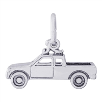 Rembrandt Pick Up Truck Charm, Sterling Silver