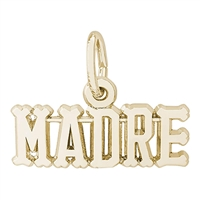 Rembrandt Madre Charm, 10K Yellow Gold