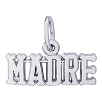 Rembrandt Madre Charm, Sterling Silver