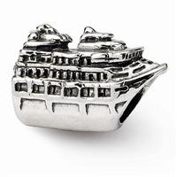 Reflections Cruise Ship Bead, Sterling Silver