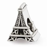 Reflections Eiffel Tower Bead, Sterling Silver