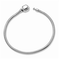 Reflections Hinged Clasp Bead Bracelet