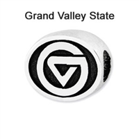 Grand Valley State Collegiate Bead Sterling Silver