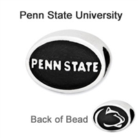 Penn State University Collegiate Bead Sterling Silver