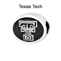 Texas Tech University Collegiate Bead Sterling Silver