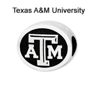 Texas A&M University Collegiate Sterling Silver Bead