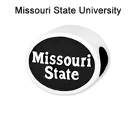 Missouri State University Collegiate Bead Sterling Silver