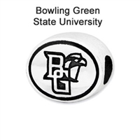 Bowling Green University Collegiate Bead Sterling Silver