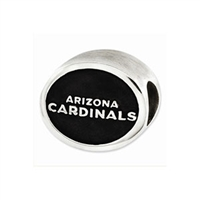 NFL Arizona Cardinals Bead Sterling Silver