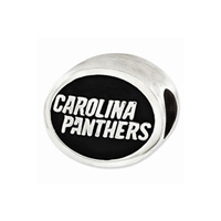 NFL Carolina Panthers Bead Sterling Silver