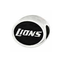 NFL Detroit Lions Bead Sterling Silver