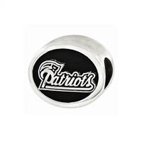 NFL New England Patriots Bead Sterling Silver