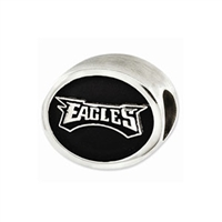 NFL Philadelphia Eagles Bead Sterling Silver