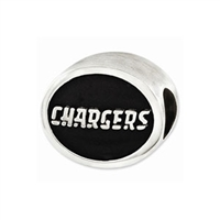 NFL San Diego Chargers Bead Sterling Silver