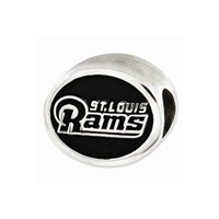 NFL St. Louis Rams Bead Sterling Silver