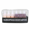 European Body Art Endura Face Off Skin Tone Light 6 pack