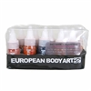 European Body Art Endura Face Off Skin Tone Dark with Adjusters 10 pack