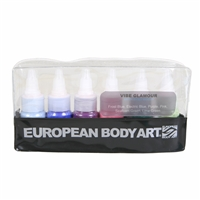 European Body Art Vibe - Glamour 6 Pack