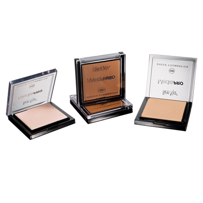 Ben Nye MediaPRO HD Sheer Foundations