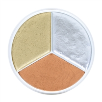 Kryolan Tri-Color Metallic Wheel