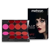 Mehron L.I.P Color Cream Spicy Palette