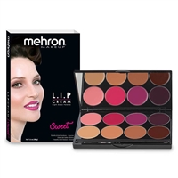 Mehron L.I.P Color Cream Sweet Palette