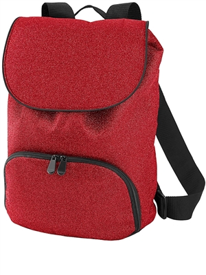 "Sparkle Mesh Backpack A1105BAG ( 17""H x 12""W x 8""D )"
