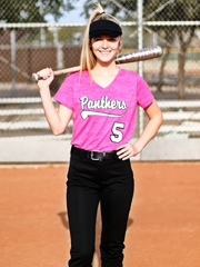 "Womens ""Heathered Phantom"" Moisture Control Pullover Softball Uniform Set With Pants A2902SOF-SETP"
